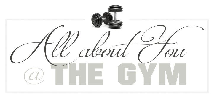 Logo all about you gym